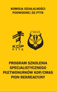 Książeczka KDP/CMAS pion rekreacyjny