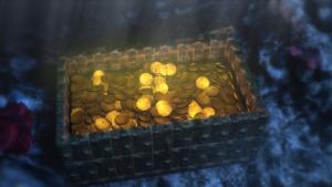 Skrzynia ze złotem