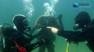 Kurs nurkowania p1 podwodą