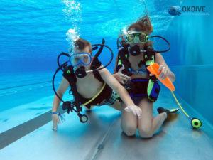 PM - kursy nurkowania dla dzieci