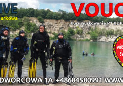 Voucher na kurs nurkowania P1 WOŚP